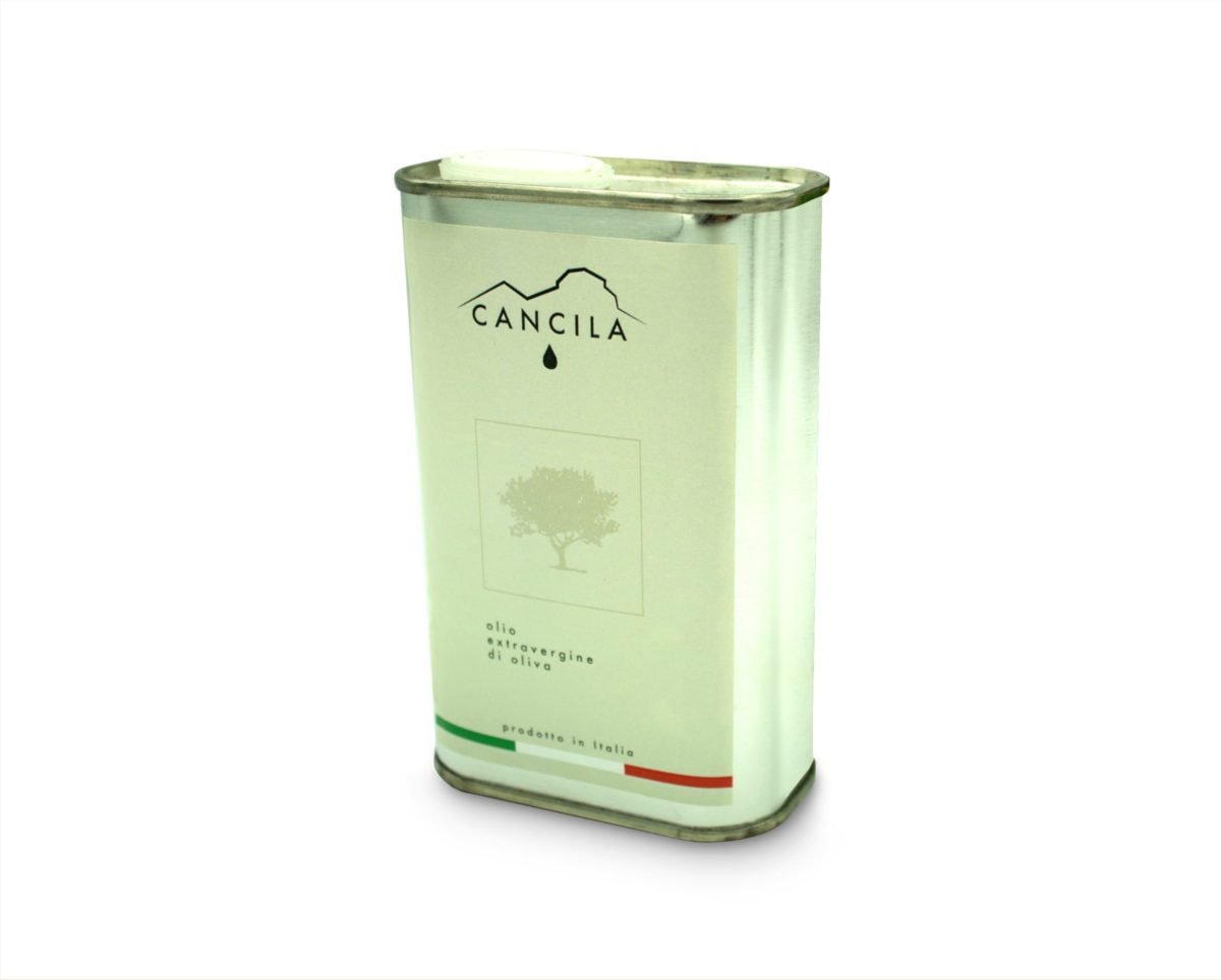 Can 250ml.<br>Extra Virgin Olive Oil<br>available from<br>early December 2020